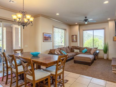 Photo for POOLS OPEN!Ground Level Suite With Jacuzzi tub, BBQ, Pools access and Fitness Center