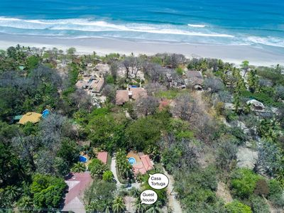 Photo for Excellent Ambiance & location, only steps to Santa Teresa beach, private, secure