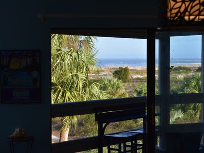 Photo for Direct Oceanfront. Fab Views Quiet Unspoiled Beach  WiFi/HD Cable  Bring fido!