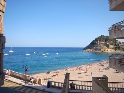 Photo for BEACHFRONT APARTMENT TOSSA DE MAR