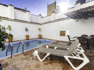 Photo for House with private pool and Andalusian style