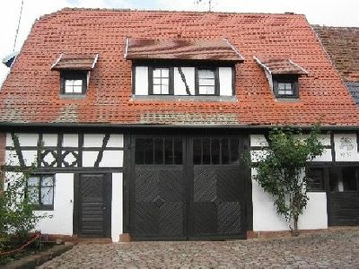 Photo for Typical half-timbered farmhouse, ideal for 2 adults and 2 or 3 children.