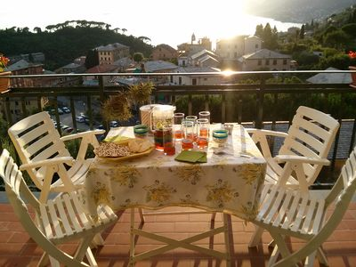 Photo for Beautiful views of the Golfo Paradiso to enjoy unforgettable sunsets