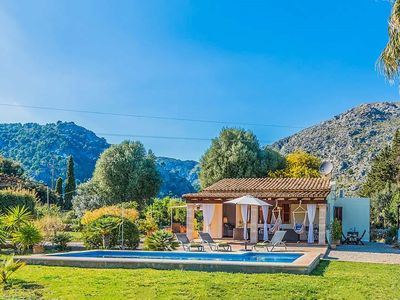 Photo for One bedroom Villa, sleeps 3 in Pollença with Pool, Air Con and WiFi