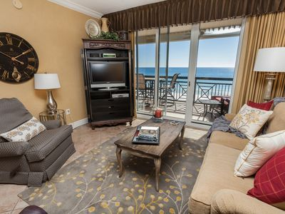 Photo for Gulf Front, Updated Decor,  Large private balcony.  Aug 8-15 Now Available