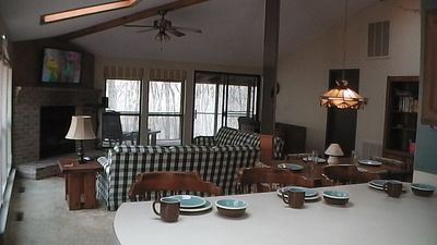 Living Room - large space for your family to relax and enjoy