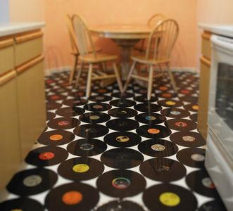 Record Floor! A touch of NYC in Reno..