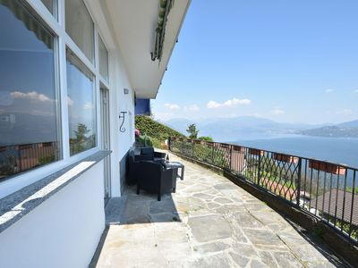 Photo for nice holiday apartment with panoramic balcony