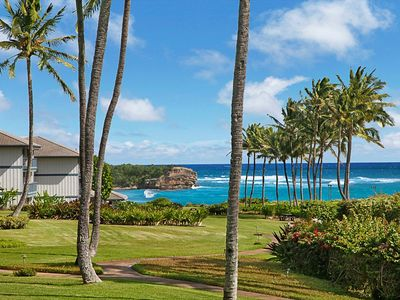 Photo for Poipu Sands - Luxury Oceanview Condo - Steps from the Beach