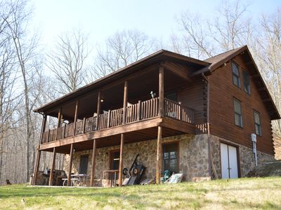 Photo for The Cabin at Serenity Ponds in Lost City WV Dog friendly! SEE MIDWEEK SPECIALS