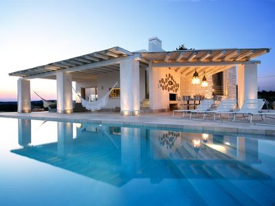 Photo for Villa Essenza with luxury swimming pool | 4 bedrooms, 8 sleeps, 4 bathrooms | Magna Greece, ...