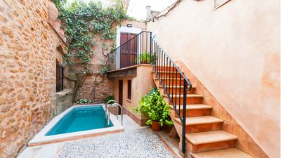 Photo for Charming House in Alcudia for 6, Terrace, Patio, Pool, 1 km from the beach