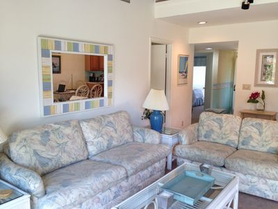 Photo for Charming Condo - Pond! Short Walk to Beach/Tennis/Restaurants