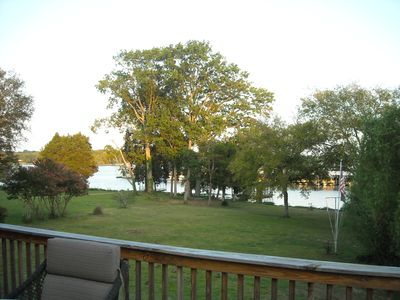 Upper Deck - View of Boat Dock and Marina