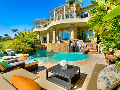 20% OFF OCT - Gorgeous Estate with Private Beach, Pool, Jacuzzi, & WIFI!