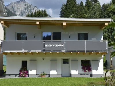 Photo for Beautiful newly built apartment, right next to the downhill course from Sonnenkopf