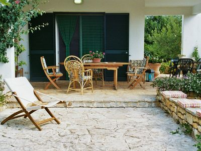 Photo for Charming Garden Villa with flair in the midst v. Olive groves just a few kilometers from the sea