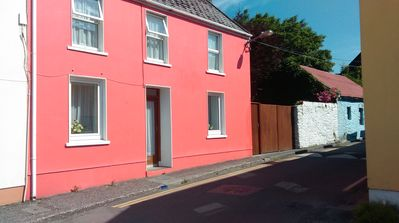 Photo for Dingle ground floor one bedroom apt. town centre private gated parking
