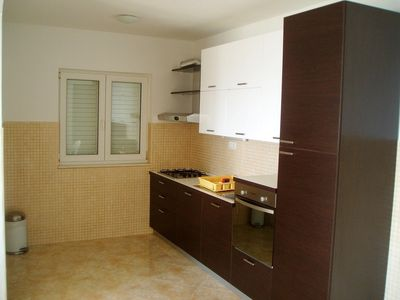 Photo for bedroom No.1: double rooms; double bed; with terrace; laminated wood flooring; with sea view