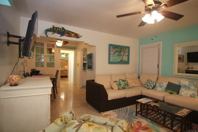 Key West inspired first floor beach house with backyard - Hollywood Key West Beach House Interior Design on key west color palette, key west cottages, key west design, key west florida homes, key west bungalow decorating,