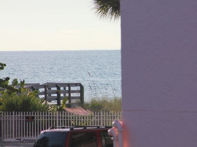 Photo for Quiet, Relaxing, Friendly Condo just a Walk across the street from the Beach!!