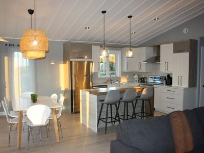 Photo for Luxury cottage on the beach- Baie des Chaleurs
