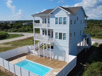 Photo for NEW CONSTRUCTION! Beautiful ocean views from multiple covered decks! A Coastal Dream!