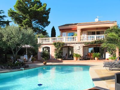 Photo for 3 bedroom Villa, sleeps 8 in Saint-Peïre-sur-Mer with Pool, Air Con and WiFi