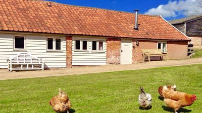 Photo for The Nook, a beautiful barn set in idyllic countryside, close to Southwold coast