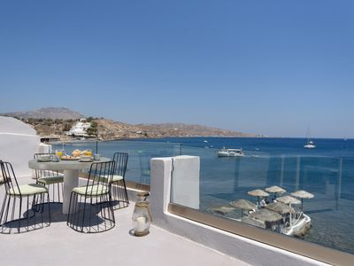 Photo for Eyrie Villa Santorini 200m from Red Beach! 2br 4guests