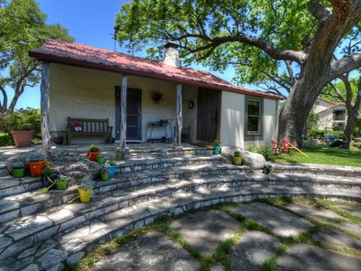 Photo for 2 bedroom, 1 bath cottage in the heart of the beautiful Texas Hill Country