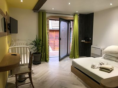 Photo for Exceptional room with private wellness area in the heart of Alsace