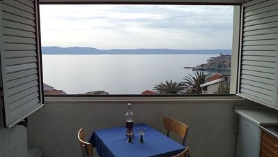 Photo for 1BR Apartment Vacation Rental in Igrane, Dalmatien