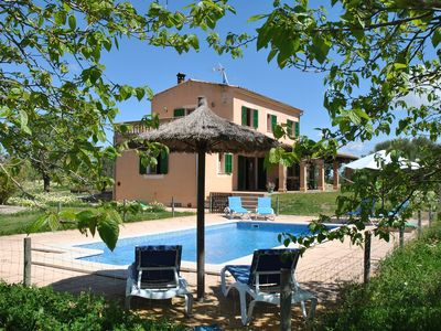 Photo for Finca in fantastically beautiful and absolutely quiet location, close to the dream beach Es Trenc