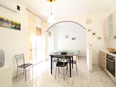 Photo for Two bedroom apartment just meters from the beach in Gallipoli