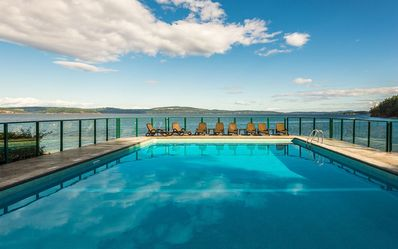 Photo for SPECTACULAR SUMMER VACATION CONDO- OCEAN FRONT-HEATED POOL- HOT TUB-TENNIS CRT