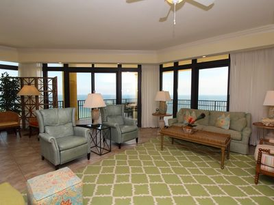 Photo for Phoenix West II 1611- Beach Front View, Large Terrace, Lazy River!