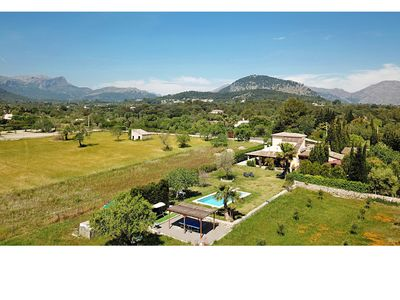 Photo for Torre de Marina is a stunning villa in a peaceful location and with amazing views in Pollensa
