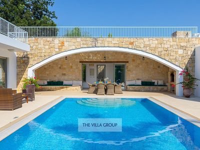 Photo for Giolou Villa, Sleeps 12 with Pool, Air Con and WiFi