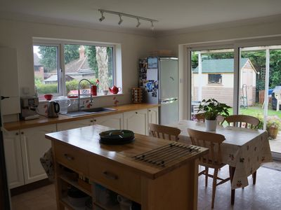 Photo for Unique and spacious ground floor apartment with private secluded garden.
