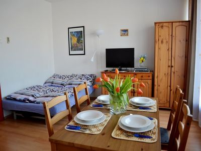 Photo for Apartment 745 m from the center of Budapest with Internet, Air conditioning, Lift, Washing machine (391027)
