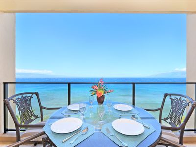 Photo for Luxury Mahana Oceanfront Condo with Unobstructed Views