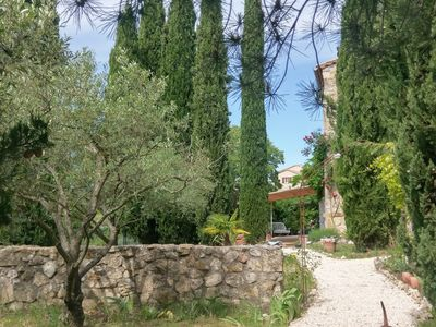 Photo for Ardèche stone house with a view