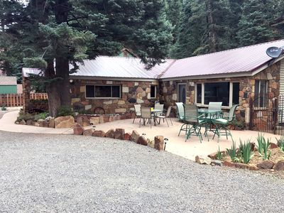 Photo for Recently Remodeled Custom Home - 3 Minutes to Downtown Ouray - Outdoor Patio
