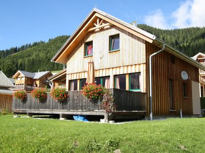 Photo for Luxury chalet, 300m from the lift at 1300m on the mountain pass