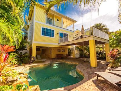 Photo for Reduced Rates 25% OFF! 30 second walk to the Beach & Heated Pool!