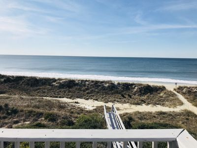 Photo for Ocean Front Getaway-Yaupon Beach, Oak Island, NC