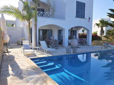 Photo for Stunning 3 Bedroom Detached Villa With Private Pool & Amazing Sea Views