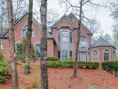 Photo for Grand home near Lake Lanier and the Chattahoochee