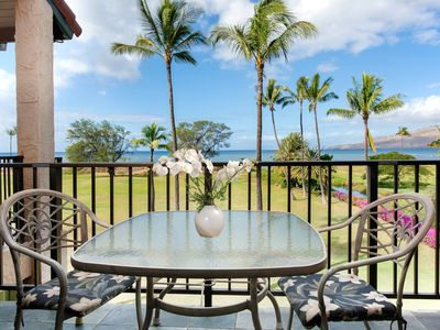 Photo for NEW LISTING! Oceanfront condo w/shared hot tub/pool/tennis - 100 yards to beach